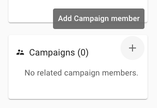Add campaign to person