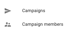 Campaigns and campaign members