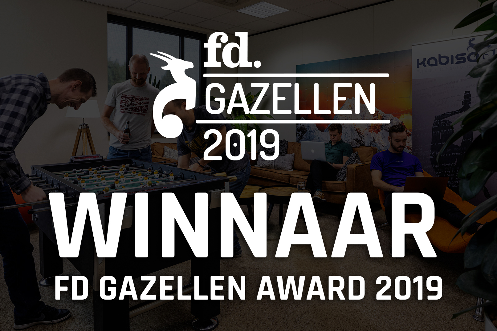 winnaar fd gazellenaward 2019