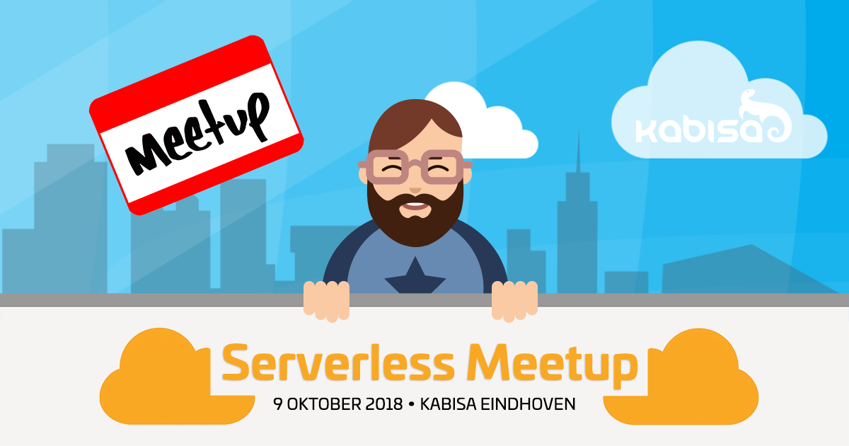 serverless uitnodiging meetup