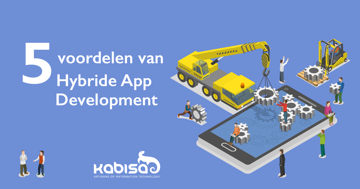 voordelen hybride app development social media