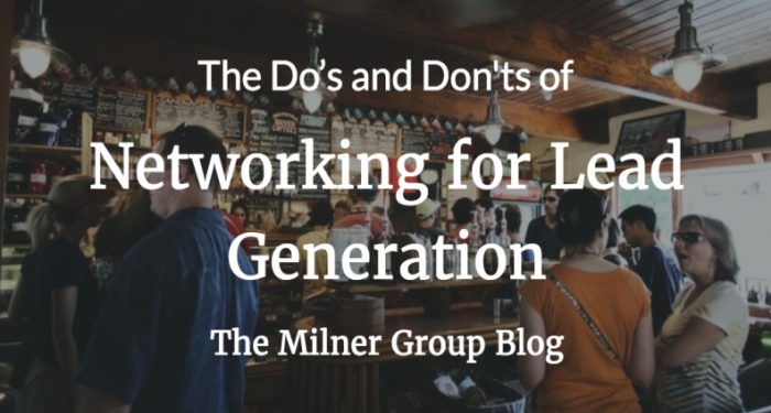 Networking for lead generations
