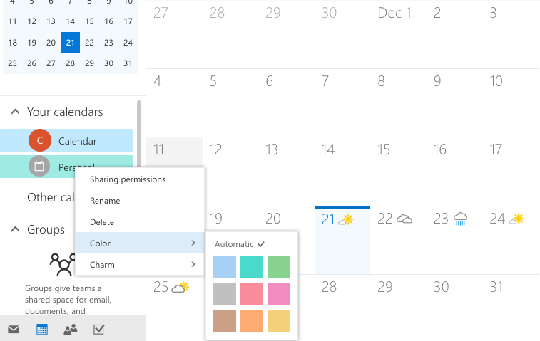 Office 365 Blog Calendly Screenshot