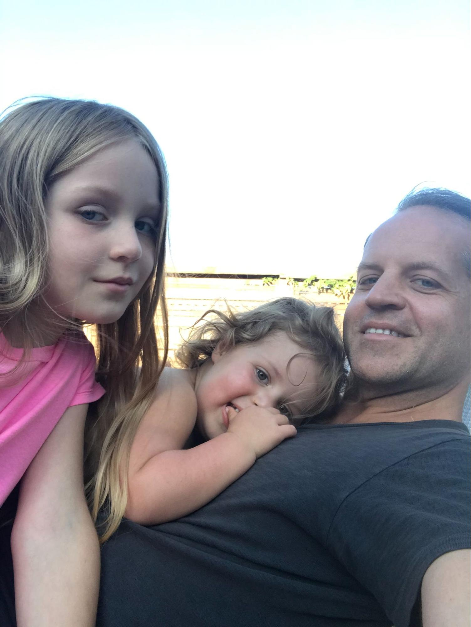 Father's Day - Jeff Hardison w family