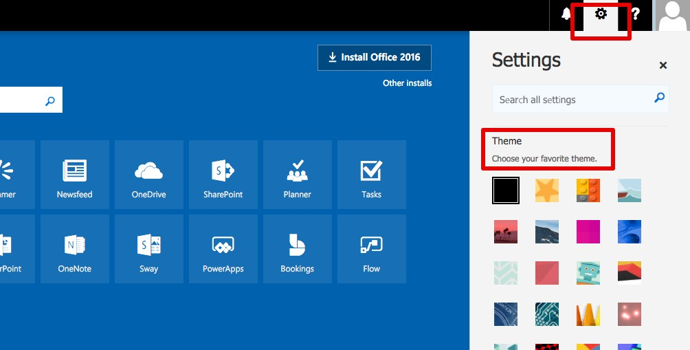 Office 365 Blog post screenshot