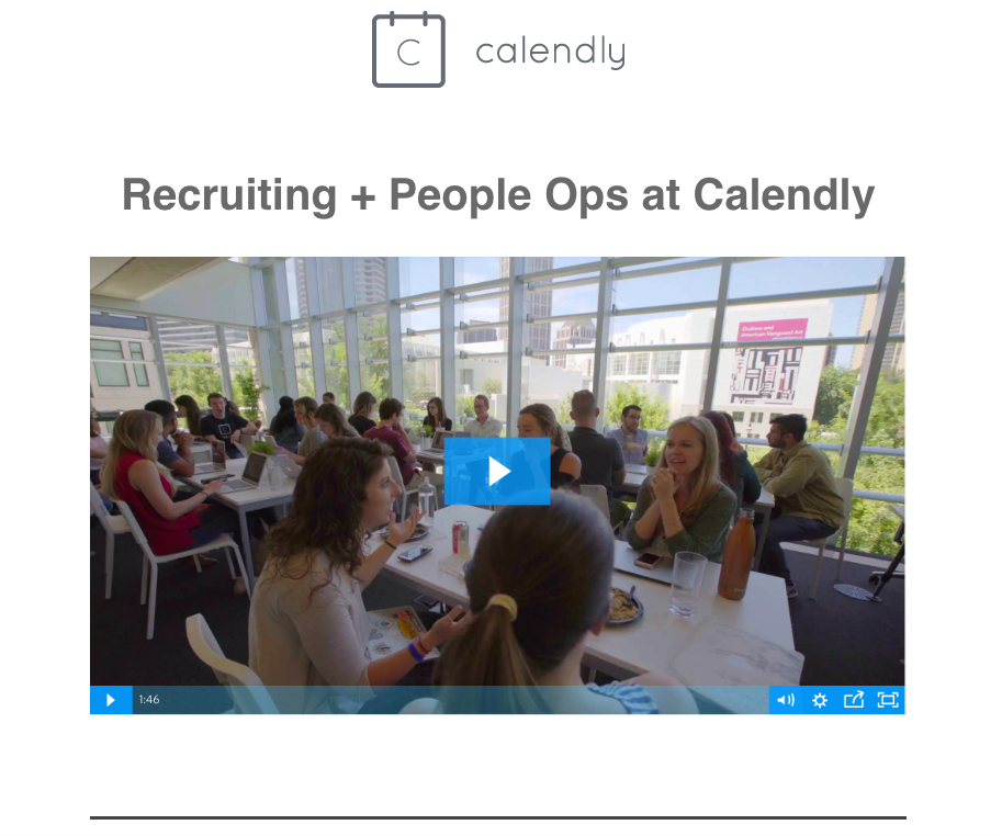 Recruiting & People Ops at Calendly