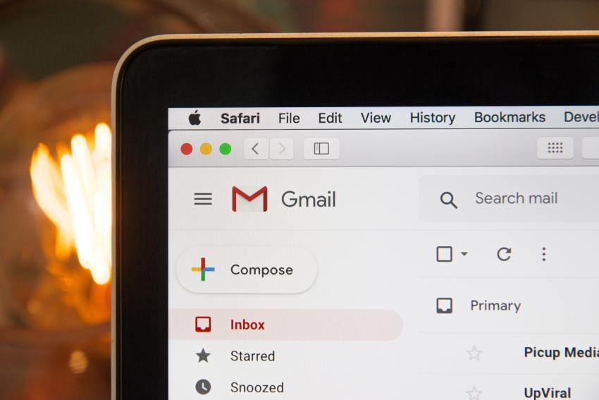 Google Email hero