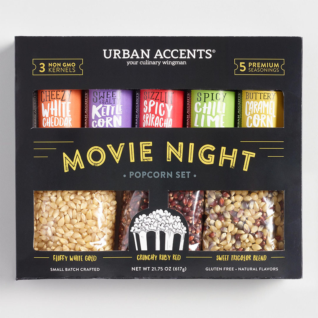 Holiday Popcorn Gift