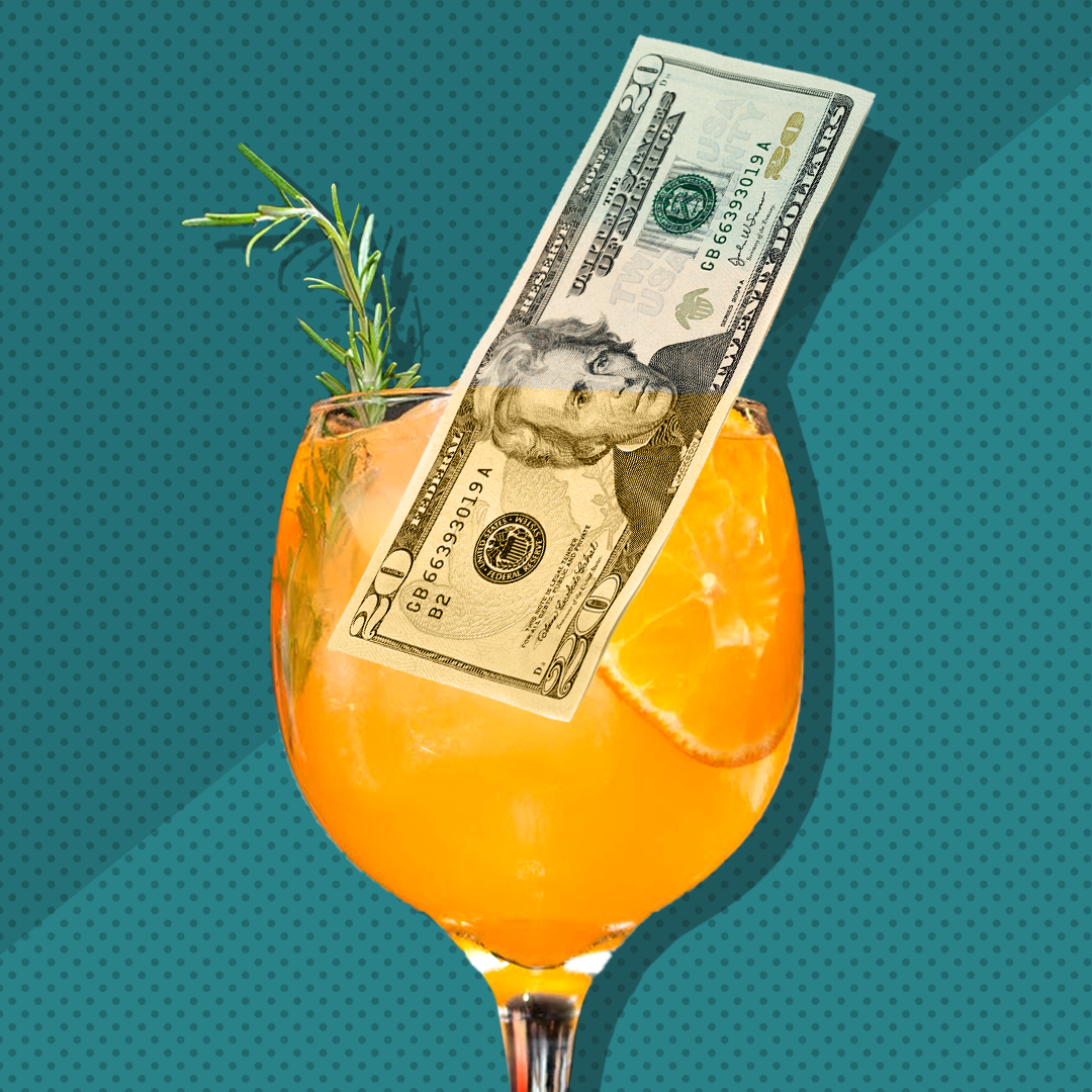 """So, if a colleague asked me to go to happy hour and I declined, I put $20 right away into my savings,"" says Bennett. ""Or, if I suggested having a few beers at my apartment instead of the bar, I would text myself the $14 difference of drinking at home."""