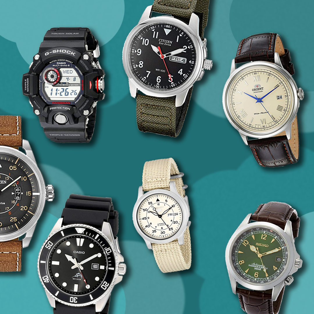 26 Men's Watches You Need to Shop on Amazon Right Now