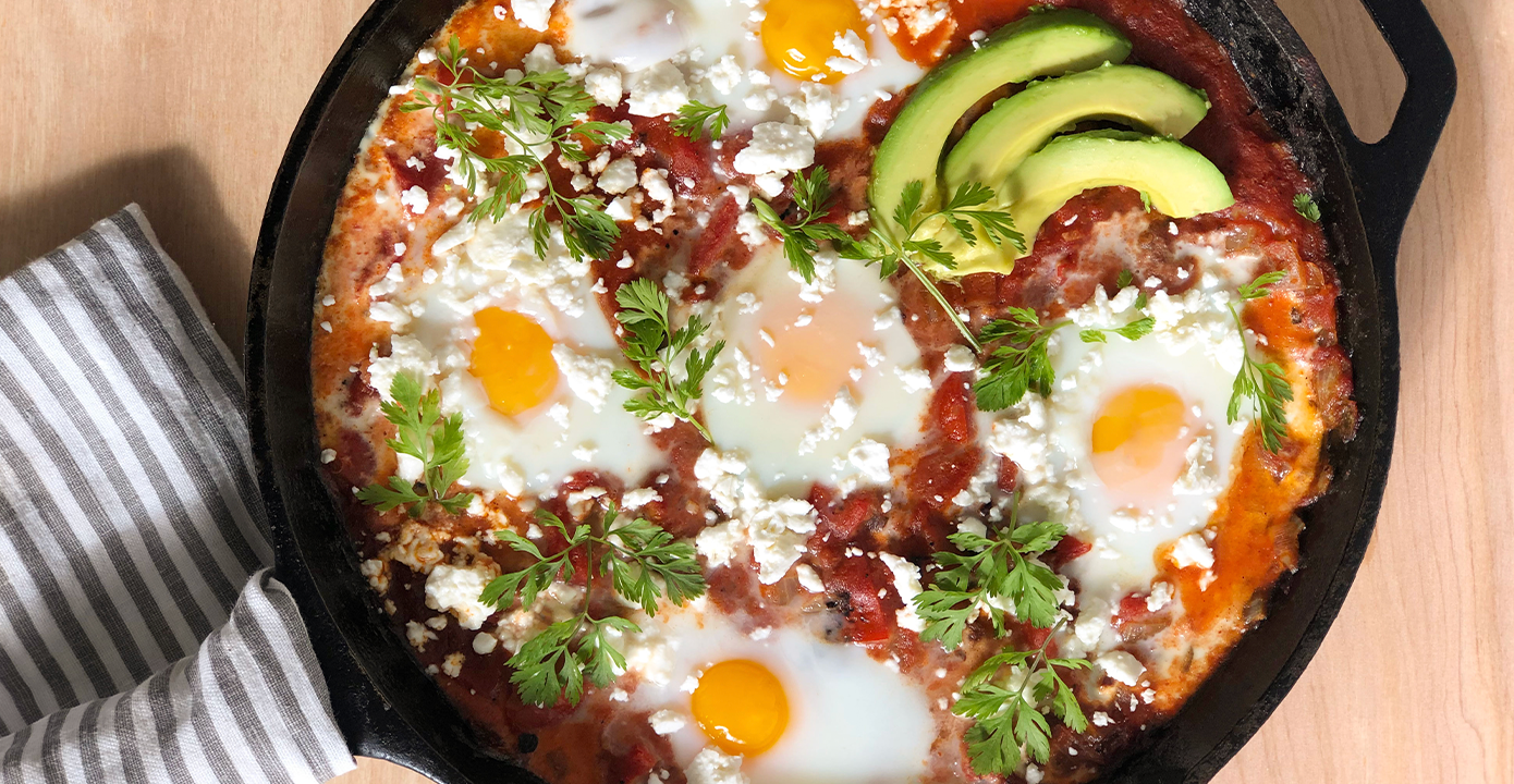 Shakshuka With Chipotle Peppers: Easy Brunch Made Better