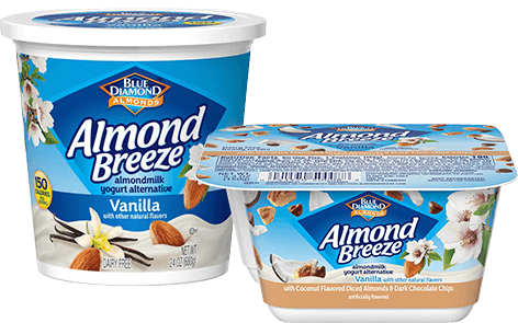 Almond Breeze almondmilk yogurt alternative