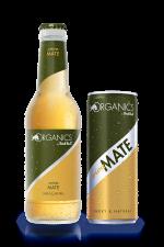 RedBull Organics Viva Mate Can and Bottle