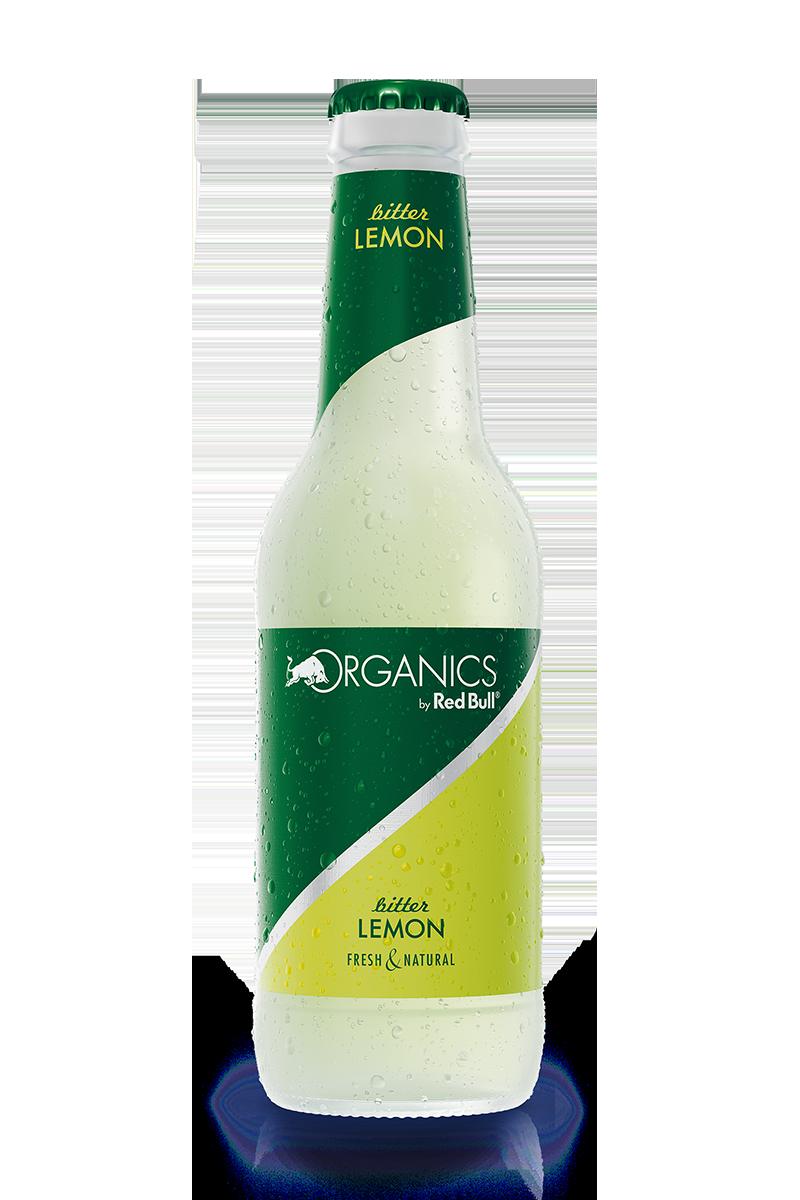 RedBull Organics Bitter Lemon Bottle