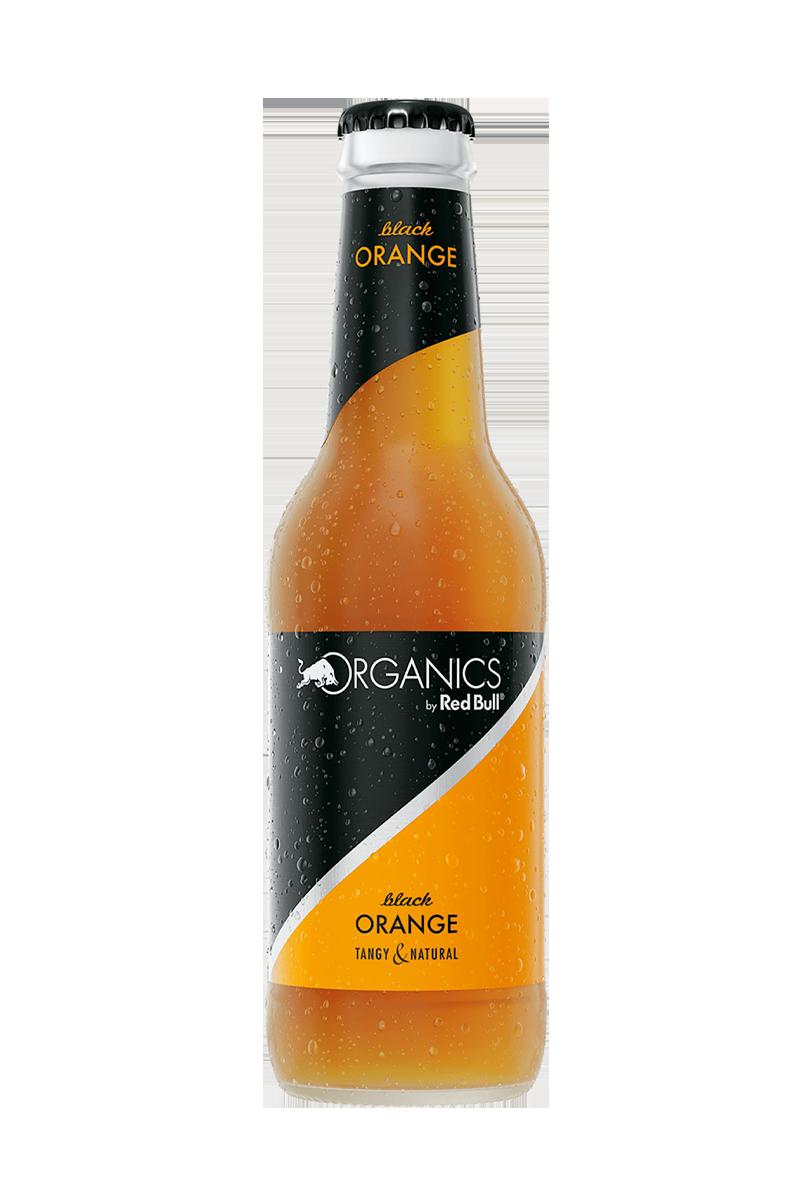 Packshot of Organics by RedBull Black Orange