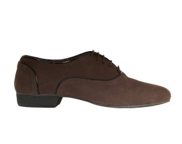 M02 Brown Suede with black lines