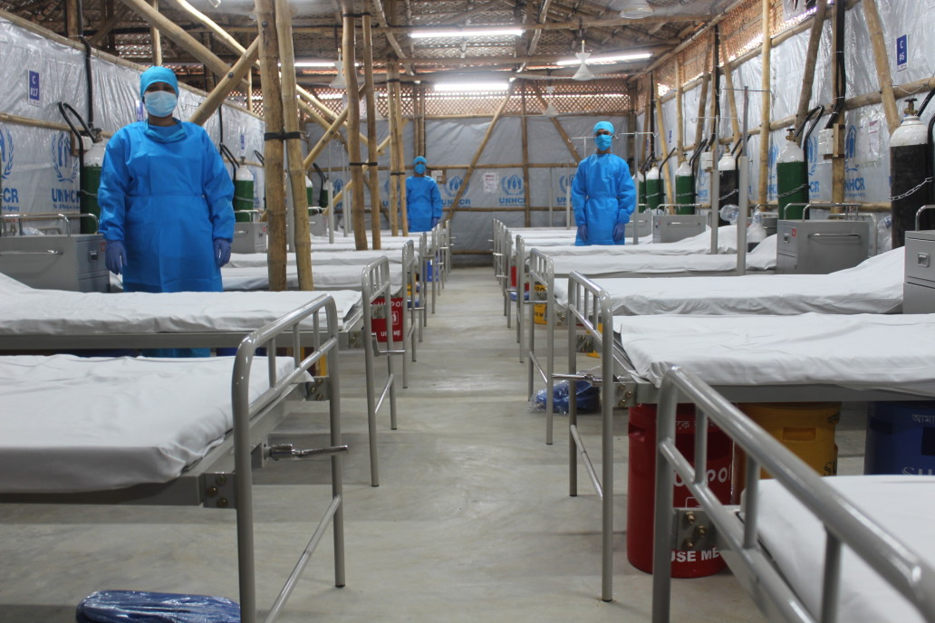 Severe Acute Respiratory Infection (SARI) Isolation and Treatment Centre in Cox's Bazar