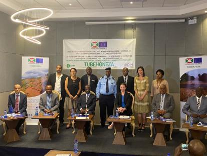 Lancement du projet TUBEHONEZA ©IOM Burundi