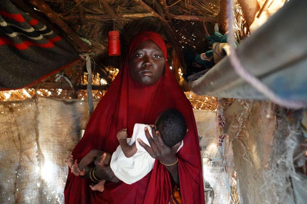 Yagana Bulama,  IDP from Marte living in Custom House