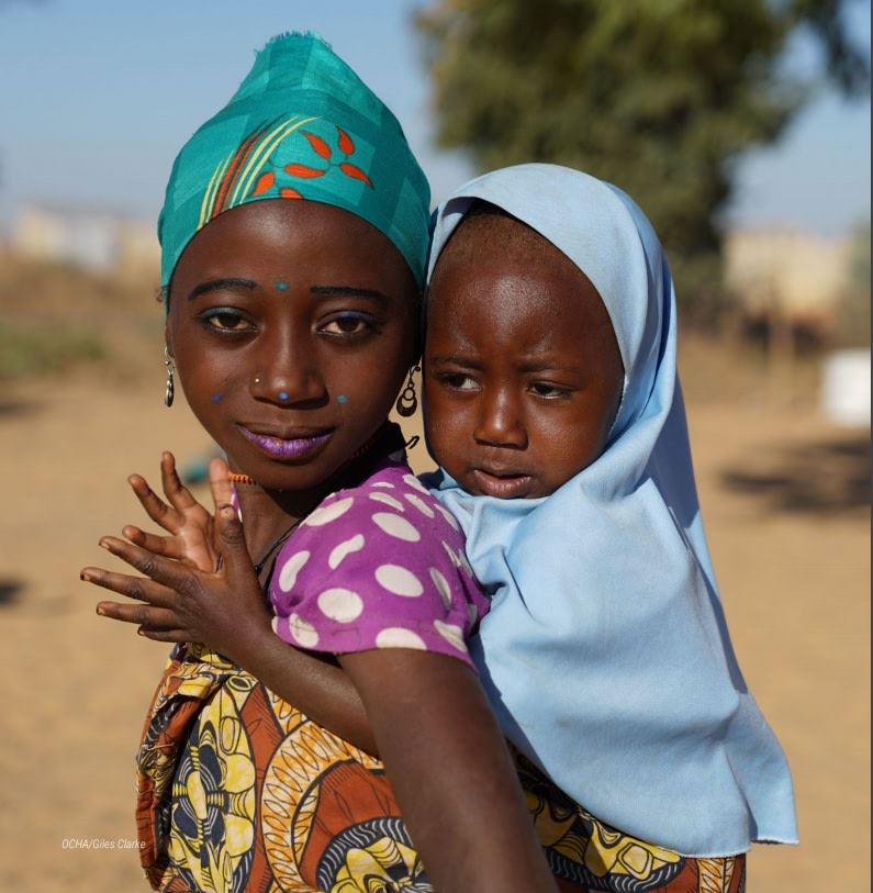 Children affected by crises