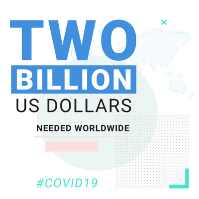 COVID appeal 2 billion