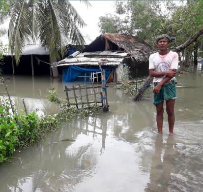 Cyclone Amphan in Bangladesh