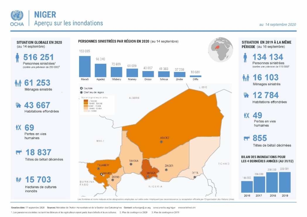 Infographic Niger Flood