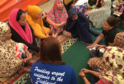 Coordinated needs assessment of Marawi evacuation centres and temporary shelters