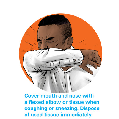 One way to prevent COVID-19 infection is to wash your hands regularly with soap and water for 20 seconds (UNICEF)