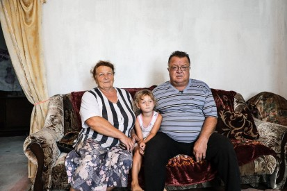 """I don't have anywhere else to go. I cannot stay at my sister's house forever too,"" Anatolii, 62, moved in to live temporarily with his sister's family in Toretsk, after his house was burnt down to ashes by shells in May 2018. Credit: OCHA/V. Ranoev/2018"