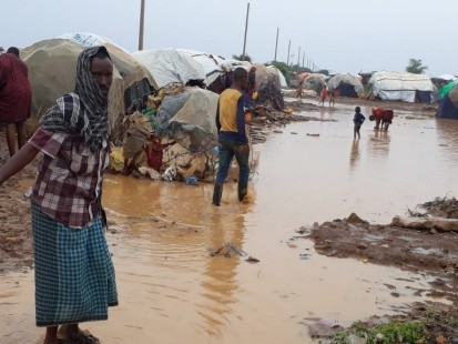 Rains are likely to trigger flooding in some areas. Photo: OCHA