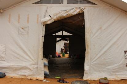 Abris de PDI à Mopti