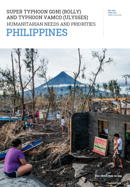 Super Typhoon Goni (Rolly) and Typhoon Vamco (Ulysses) Humanitarian Needs and Priorities