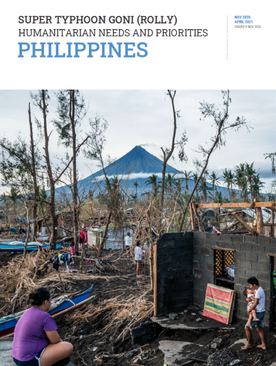 Super Typhoon Goni (Rolly) Humanitarian Needs and Priorities