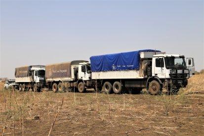 WFP convoy