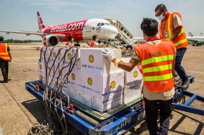 United Nations Launches European Union/Switzerland-Funded Humanitarian Flights