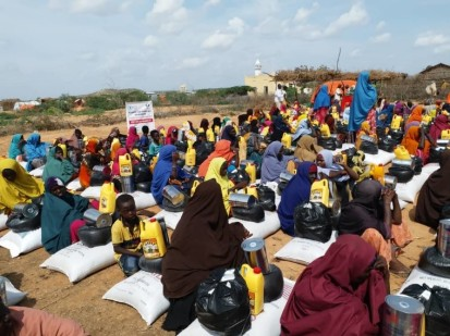 Humanitarian partners in Somalia face enormous challenges reaching people in need. Photo: OCHA