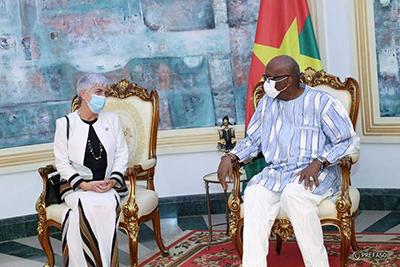 Barbara Manzi, nouvelle coordonatrice Résidente des Nations Unies au Burkina Faso
