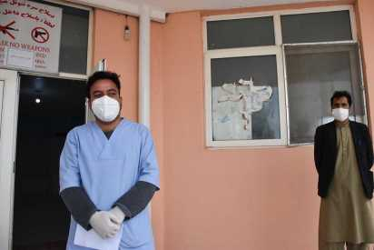 A young doctor's fight to stem the spread of COVID-19 in Afghanistan