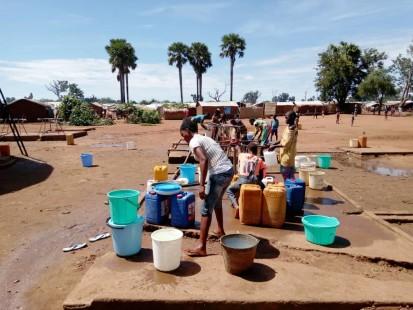 Le manque d'eau potable est un des défis majeurs pour la population à Batangafo