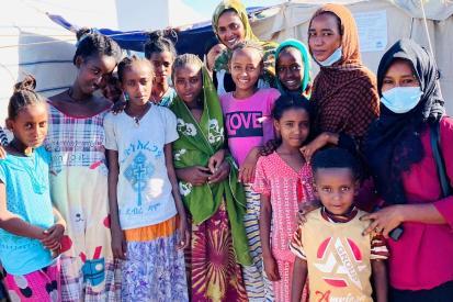 Tigray refugees in Sudan - UNICEF