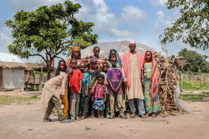 Une famille retournée à Djako