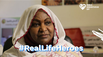 Real-life heroes: meet Khadiga, from Sudan
