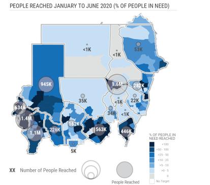 Sudan: Humanitarian Assistance Monitoring (January - June 2020)