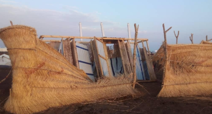 Refugee shelters in the east damaged by rain and floods - MSF
