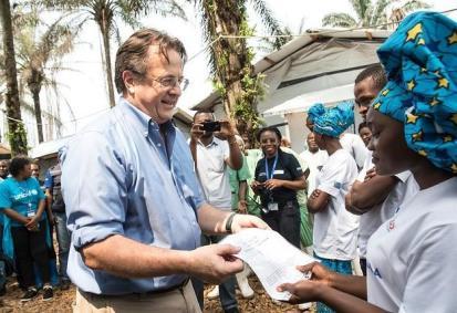 السيد غريزلي في جمهورية الكونغو الديموقراطية. بعثة منظمة الأمم المتحدة لتحقيق الاستقرار في جمهورية الكونغو الديمقراطية/المصدر: فليكر