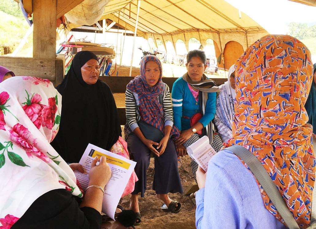Humanitarian partners assess Marawi continuing humanitarian needs