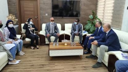 Inter-agency UN mission meeting with the Mayor of Tobruk, eastern Libya (OCHA)