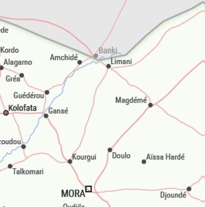 Carte Kourgui, Gancé, Kolofata