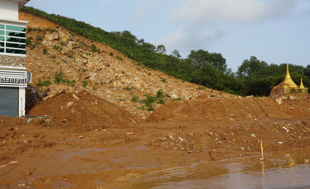 Landslide in Paung Township